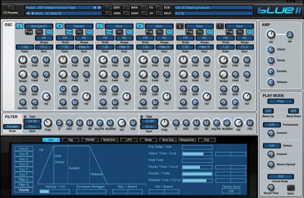 Synth Rob Papen Blue II