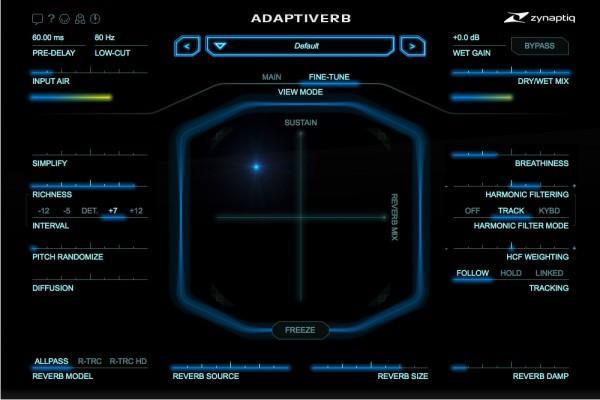 Zynaptiq Adaptiverb Resythnesis Reverb EDUCATION
