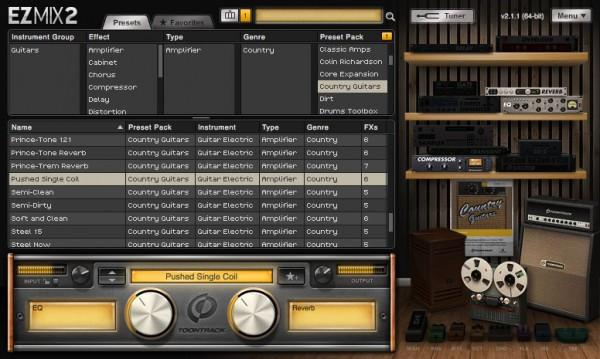 Buy Toontrack EZmix 2 Country Guitars Presets