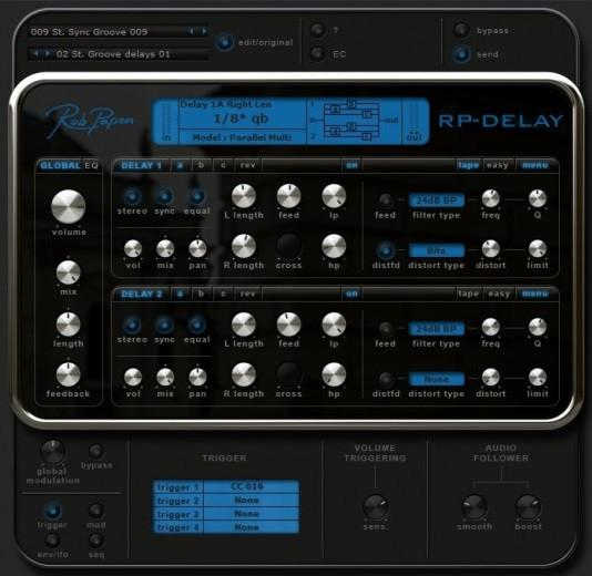 Review Rob Papen RP Delay