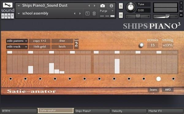 Buy Sound Dust Ships Piano
