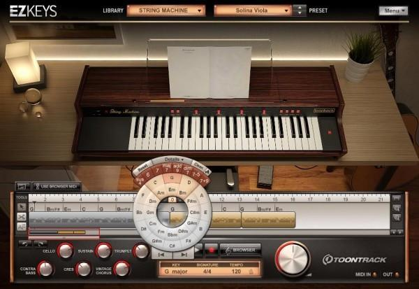 Toontrack EZkeys String Machine EDUCATION