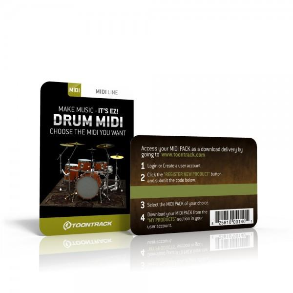 Download Toontrack Drum MIDI Pack