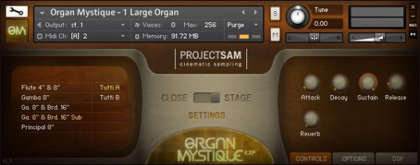 Buy ProjectSAM Organ Mystique EXP