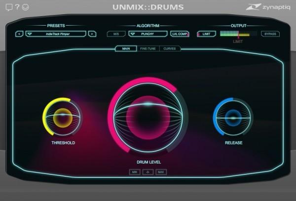 Download Zynaptiq Unmix Drums