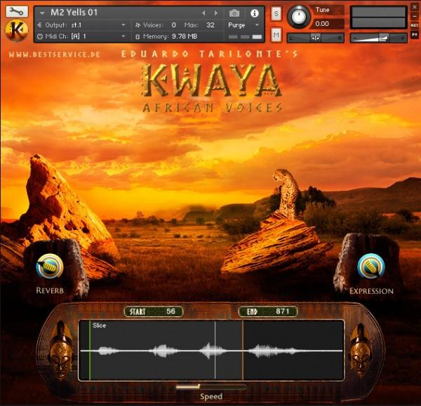 Interface Best Service KWAYA African Voices by Eduardo Tarilonte