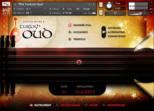 Buy Impact Soundworks Plectra 4 - Turksish Oud Materials