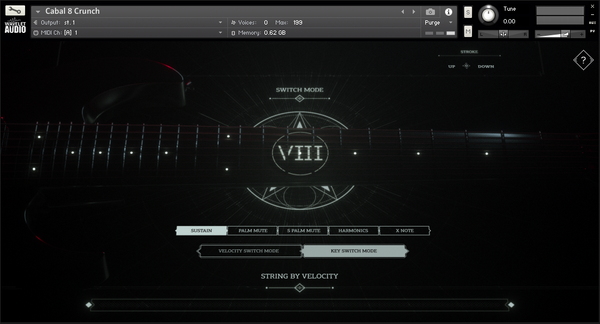 Wavelet Audio Cabal 8: Crunch