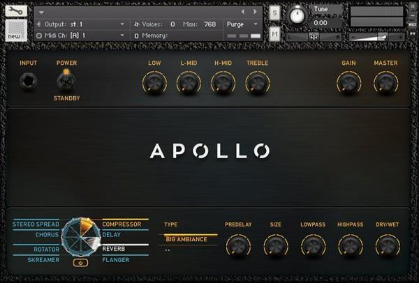 Interface Vir2 Instruments Apollo Cinematic Guitars