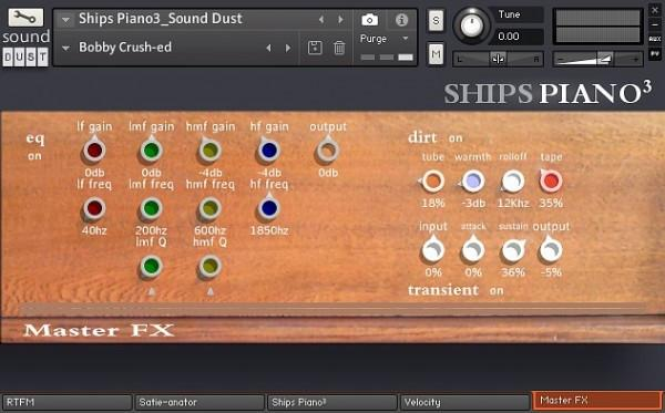 Review Sound Dust Ships Piano