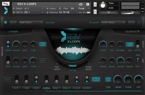 Review Output - REV X-LOOPS