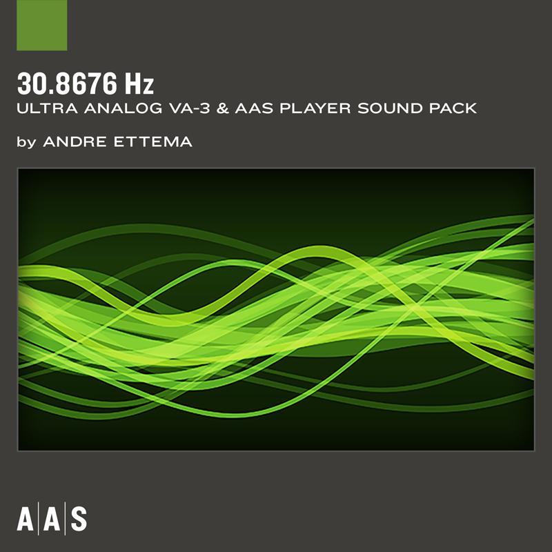 AAS 30.6876 Hz Ultra Analog VA-3 Sound pack