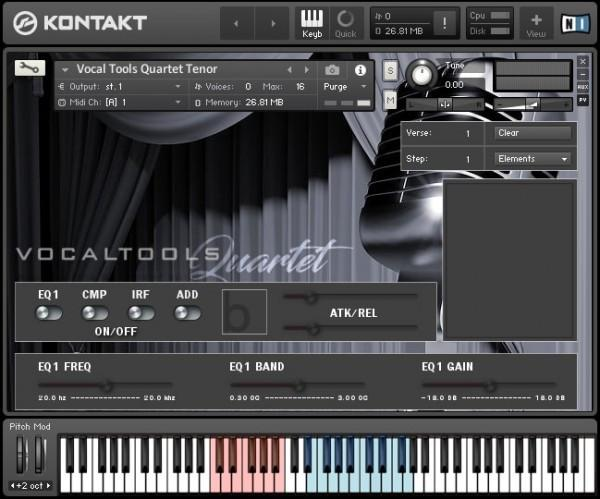 Interface  Bela D Media Vocal Tools Quartet