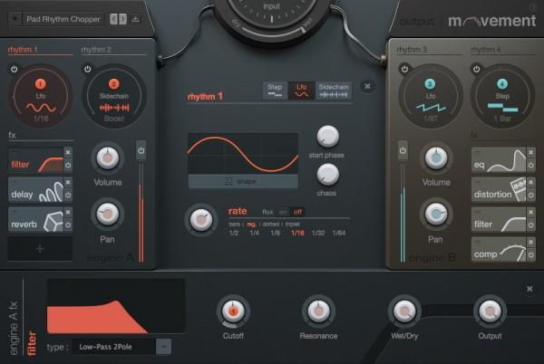 Interface Output - Movement: Rhythm FX Engine