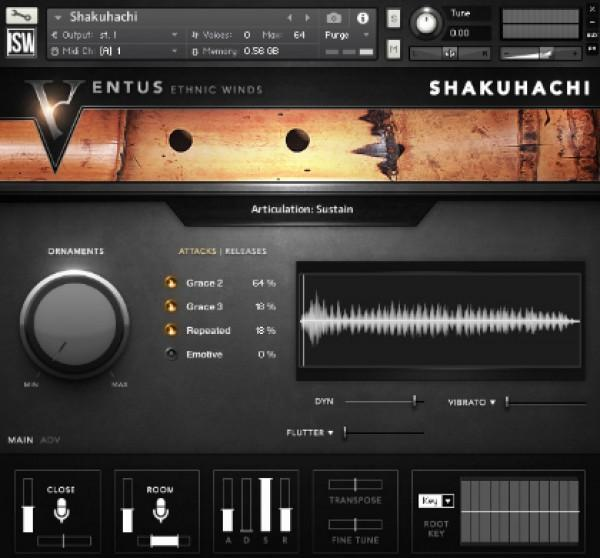 Review Impact Soundworks Ventus Ethnic Winds - Shakuhachi
