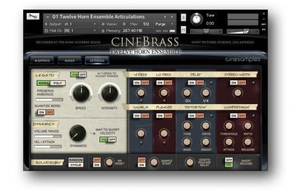 Buy Cinesamples CineBrass Twelve Horn Ensemble