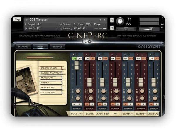 Install CineSamples CinePerc COMPLETE Bundle