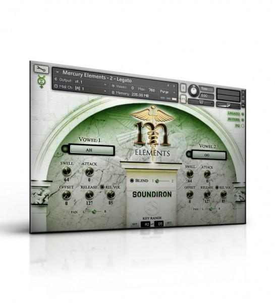 Interface Soundiron Mercury Elements - Player Edition