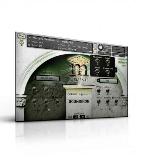 Kontakt Soundiron Mercury Elements - Player Edition