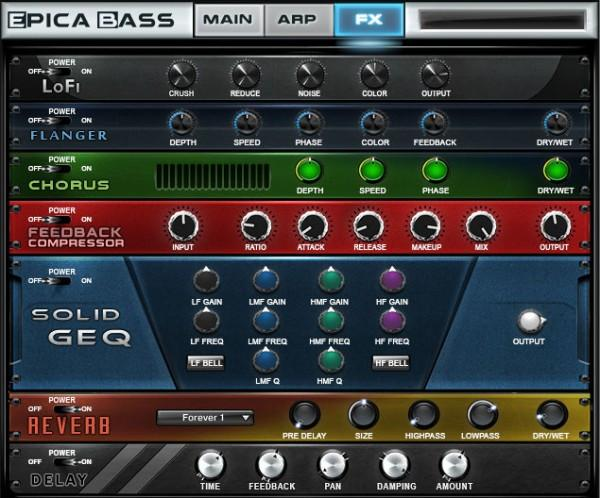 GUI Sam Spacey Epica Bass