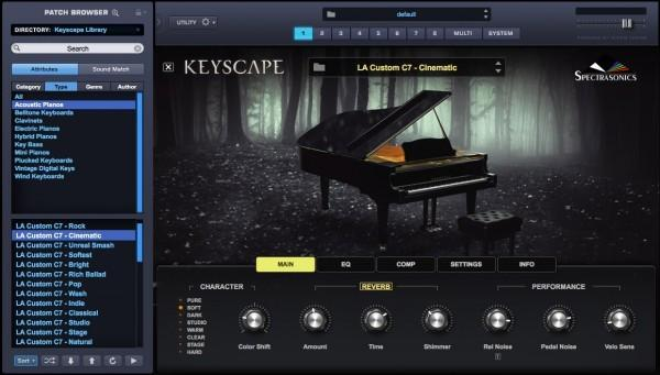 Interface Spectrasonics Omnisphere 2 & Keyscape Collection