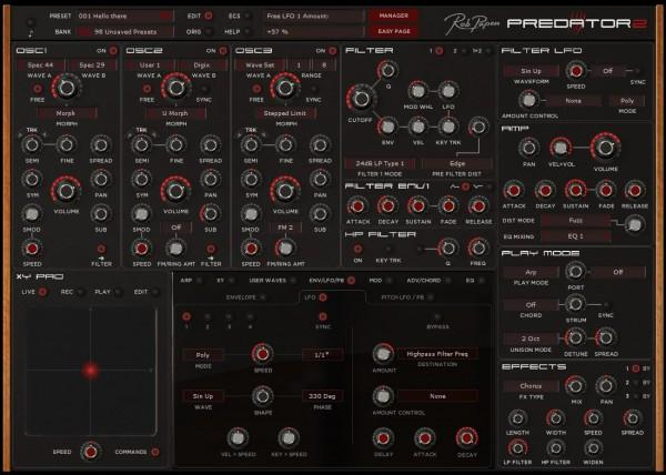 Interface Rob Papen Predator 2