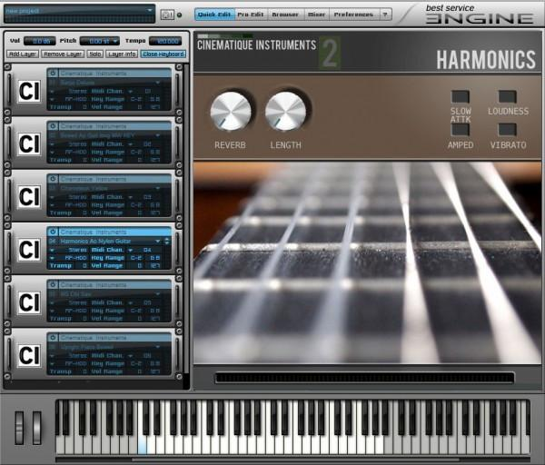 Virtual Instrument Best Service Cinematique Instruments 2