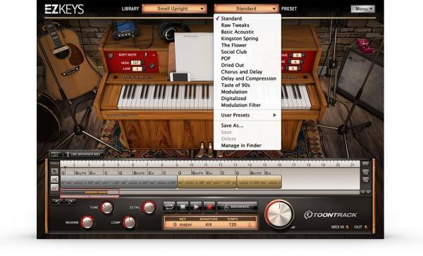Toontrack EZkeys Small Upright EDUCATION