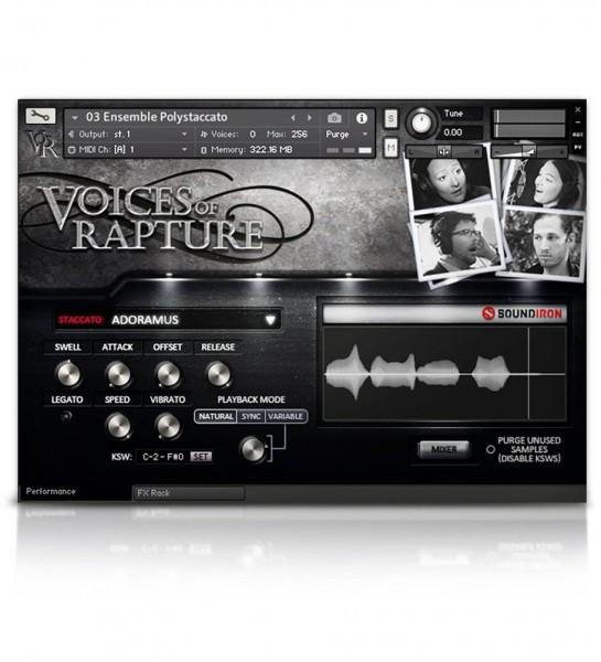 Interface Soundiron Voices of Rapture Collection