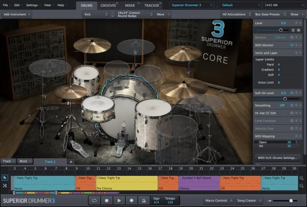 MIDI Toontrack Superior Drummer 3 Education Institution MULTIPLE LICENCE
