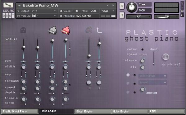 Download Sound Dust Plastic Ghost Piano