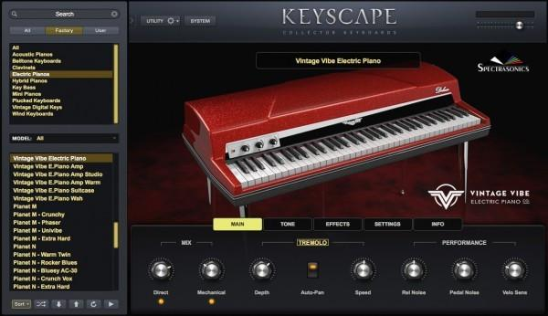 GUI Spectrasonics Omnisphere 2 & Keyscape Collection