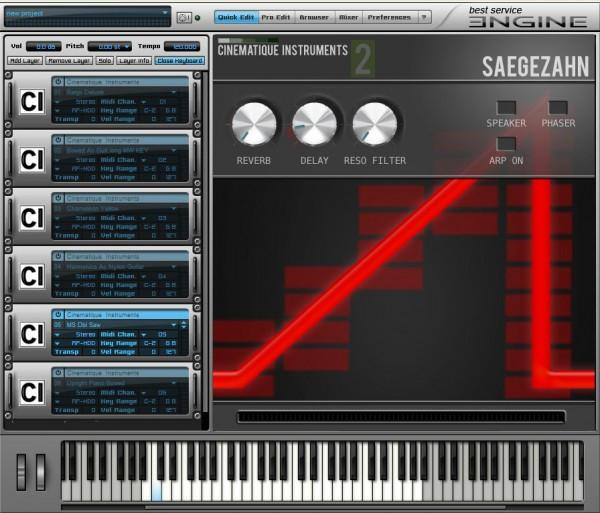 Sample Best Service Cinematique Instruments 2
