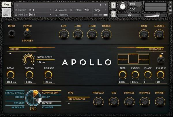 Kontakt Vir2 Instruments Apollo Cinematic Guitars