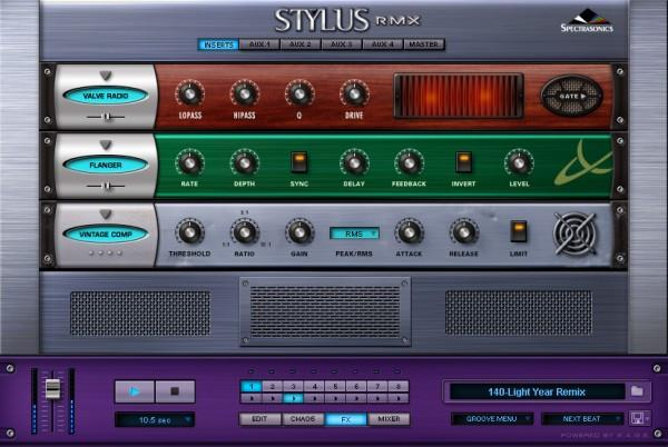 Interface Spectrasonics Stylus RMX Xpanded