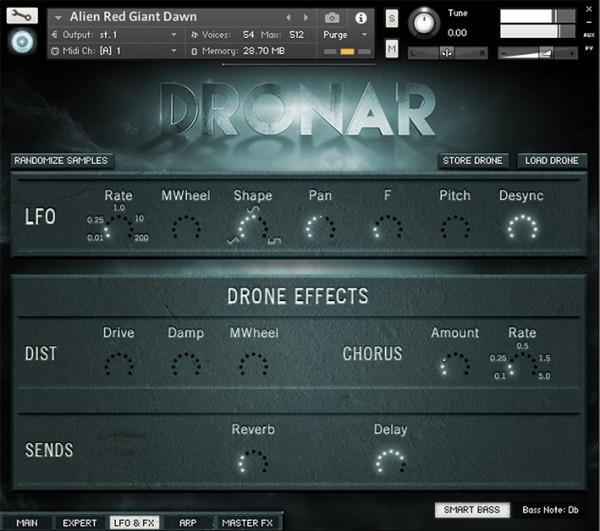 Library Gothic Instruments DRONAR Bundle