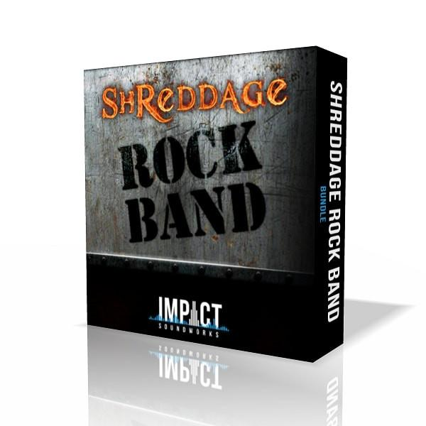 Download Impact Soundworks Shreddage Rock Band