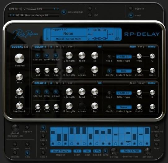 Rob Papen RP Delay EDUCATION