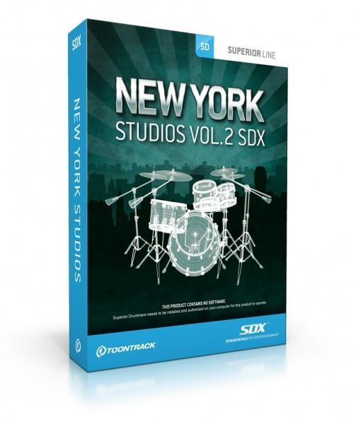 Toontrack SDX: New York Studios Vol 2 EDUCATION