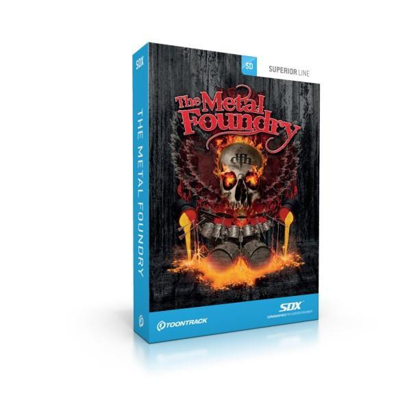 Toontrack SDX: The Metal Foundry EDUCATION