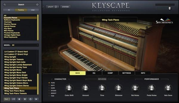 Collection Spectrasonics Keyscape
