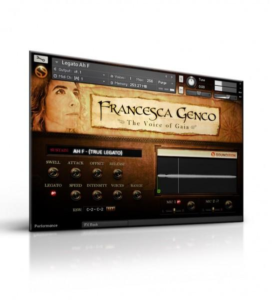 Buy Soundiron Voice of Gaia  Francesca Genco
