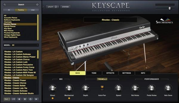 Library Spectrasonics Keyscape
