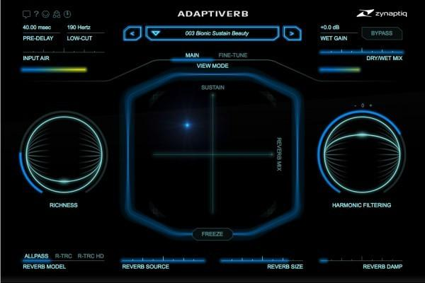 Download Zynaptiq Adaptiverb Resythnesis Reverb