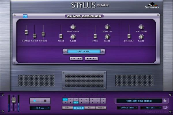 Sequencer Spectrasonics Stylus RMX Xpanded