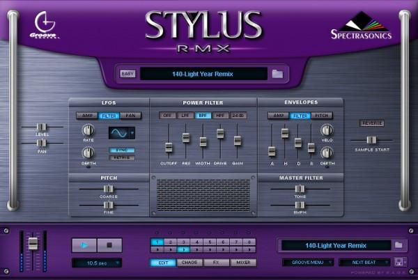 Virtual Instrument Spectrasonics Stylus RMX Xpanded