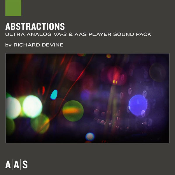 AAS Abstractions Ultra Analog VA-3 Sound pack