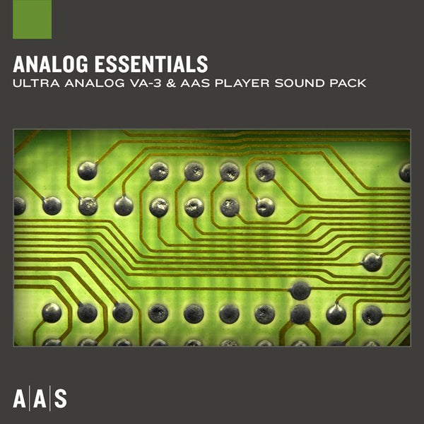AAS Analog Essentials Ultra Analog VA-3 Sound pack