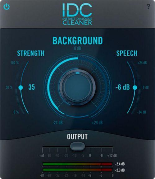 Audionamix IDC Instant Dialogue Cleaner GUI