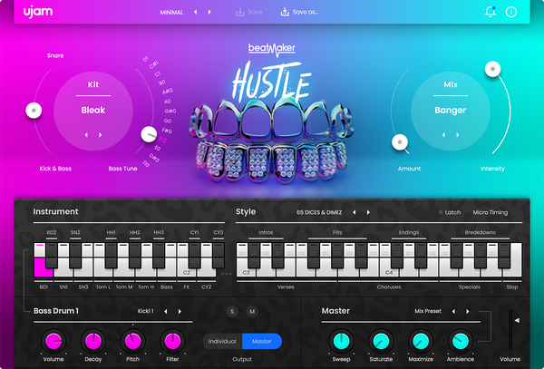 UJAM Beatmaker Hip Hop Bundle
